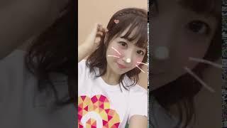 惣田紗莉渚 SKE48 おはようございます!!ブルゾンちえみさん、完走おめでとうございます。#24時間TV、Tシャツかわゆいです 。2017.08.28.