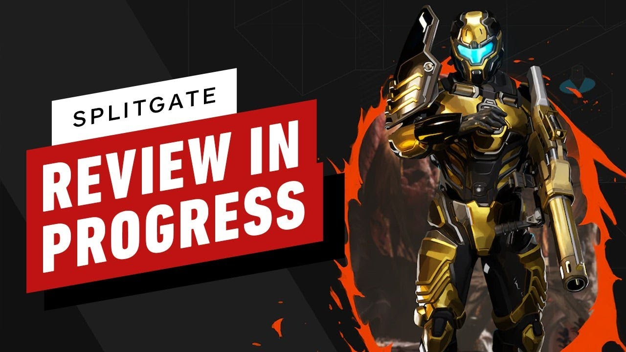 Splitgate Review in Progress (Video Game Video Review)