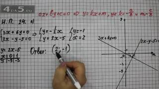 Итоговое повторение 24. Вариант А. Алгебра 7 класс Мордкович А.Г.
