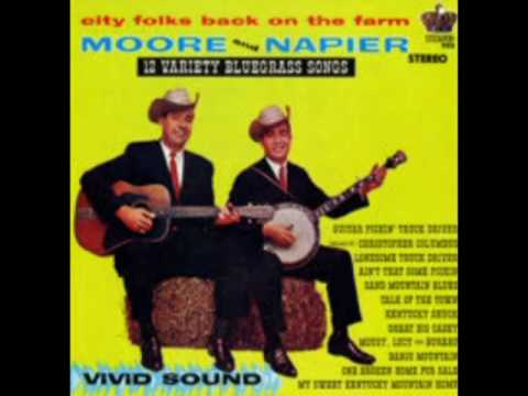 12 Variety Bluegrass Songs [1964] - Charlie Moore & Bill Napier