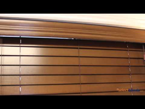 """2"""" Premium Wood Blinds from Selectblinds.ca"""