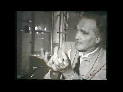 Viktor Schauberger in seinem Labor Historischer Film ohne Ton