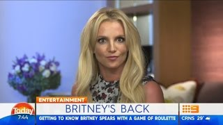 Britney Spears Playing the Roulette on 'The Today Show' (2016)