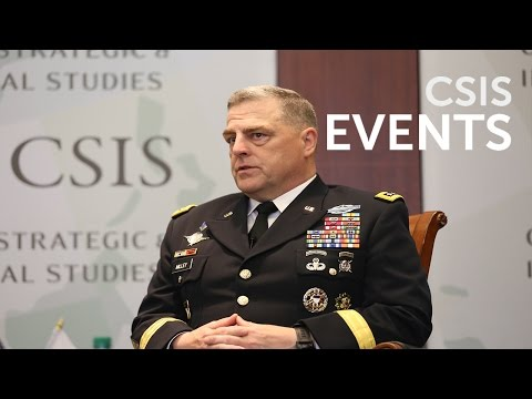 Priorities for Our Nation's Army with General Mark A. Milley