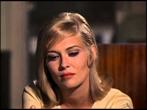 Bonnie and Clyde diner scene