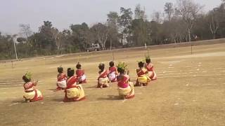 Rathe Hat Ankur Shishu Niketan dance video