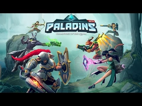 Paladins Gameplay Live - Best Shooter I've Played In 2017
