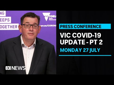 Victorian Coronavirus Cases Climb By 134 As Melbourne Readies For Stage Three Lockdown Abc News Youtube