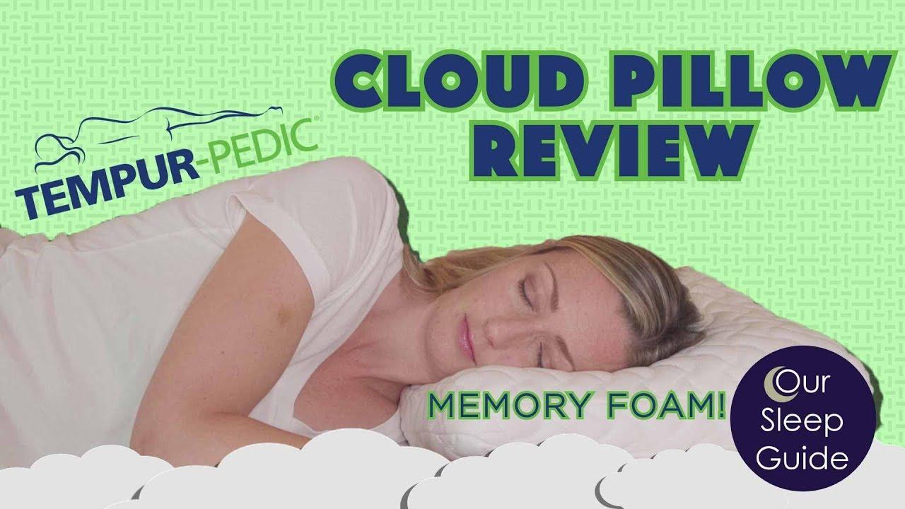 tempurpedic cloud memory foam pillow review 2019 highlights benefits details