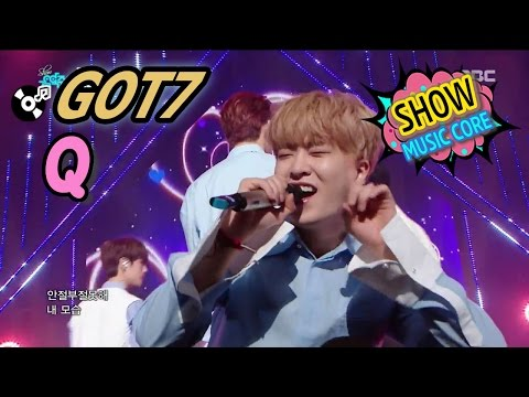 [Comeback Stage] GOT7 - Q, 갓세븐 - 큐 Show Music core 20170325