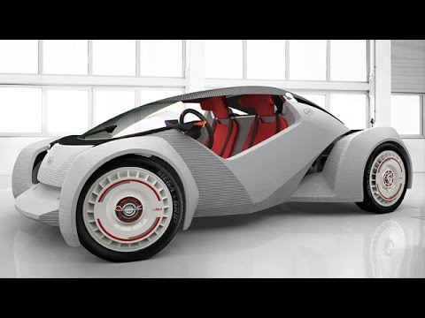 Local Motors Strati - World's First 3D-Printed Car At Detroit Auto Show 2015 !