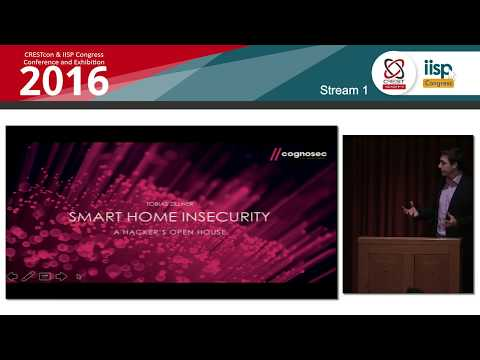 ZigBee Smart Homes – A hacker's open house: Tobias Zillner, Cognosec