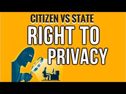 Right To Privacy In India - Hindu Editorial Analysis - Fundamental Right for all