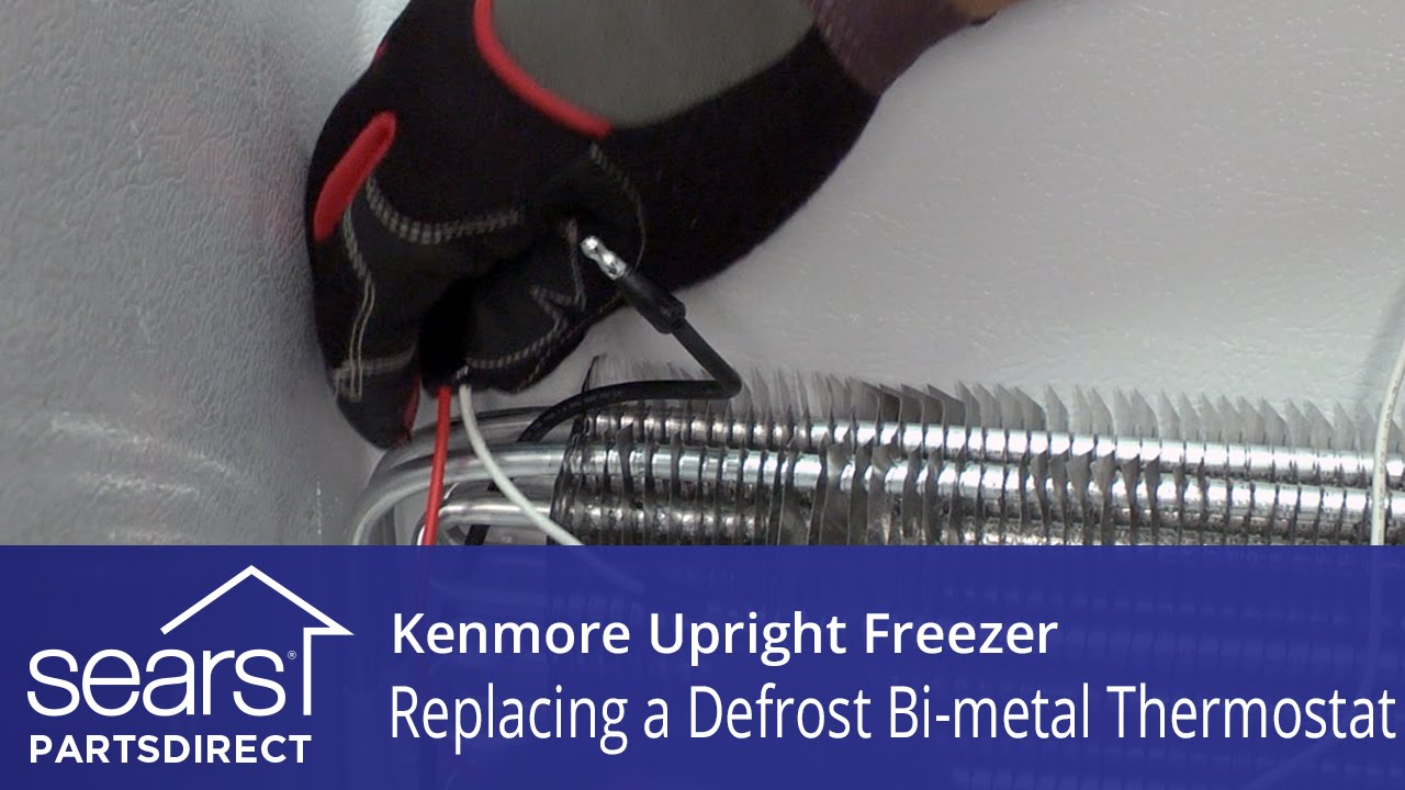 How To Replace A Kenmore Upright Freezer Defrost Bi Metal