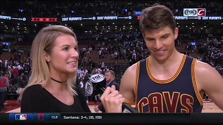The Closers: Kyle Korver on Kyrie and LeBron after Cavs sweep Raptors