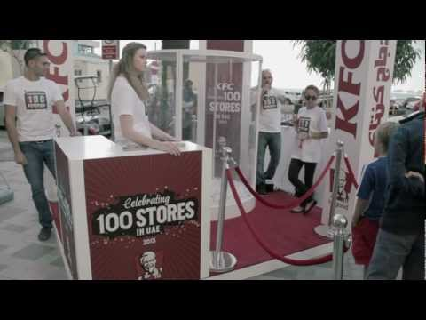 KFC 100 Stores Celebration in UAE
