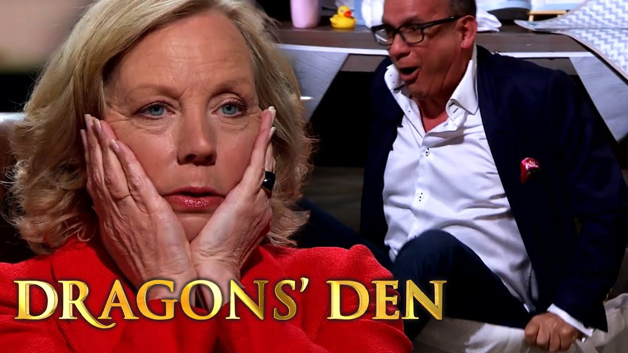 Touker's Unconventional Product Test Ends Badly | Dragons' Den