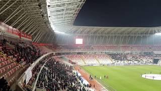 Sivasspor Çaykur Rizespor Maçı Öncesi Tribünler Çok Güzel Görüntüler sivasspor58tv,sivasspor