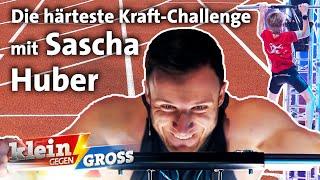 Sascha Huber vs. Felix: Wer schafft mehr Liegestütz-Strecksprung-Klimmzug-Kombinationen?