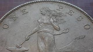 US Philippines Silver Peso 1903-1912