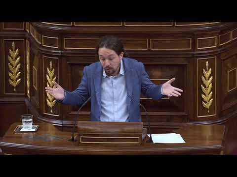 PABLO IGLESIAS (Podemos) - Las SEIS preguntas a RAJOY sobre la GÜRTEL en el Congreso (30/08/2017)