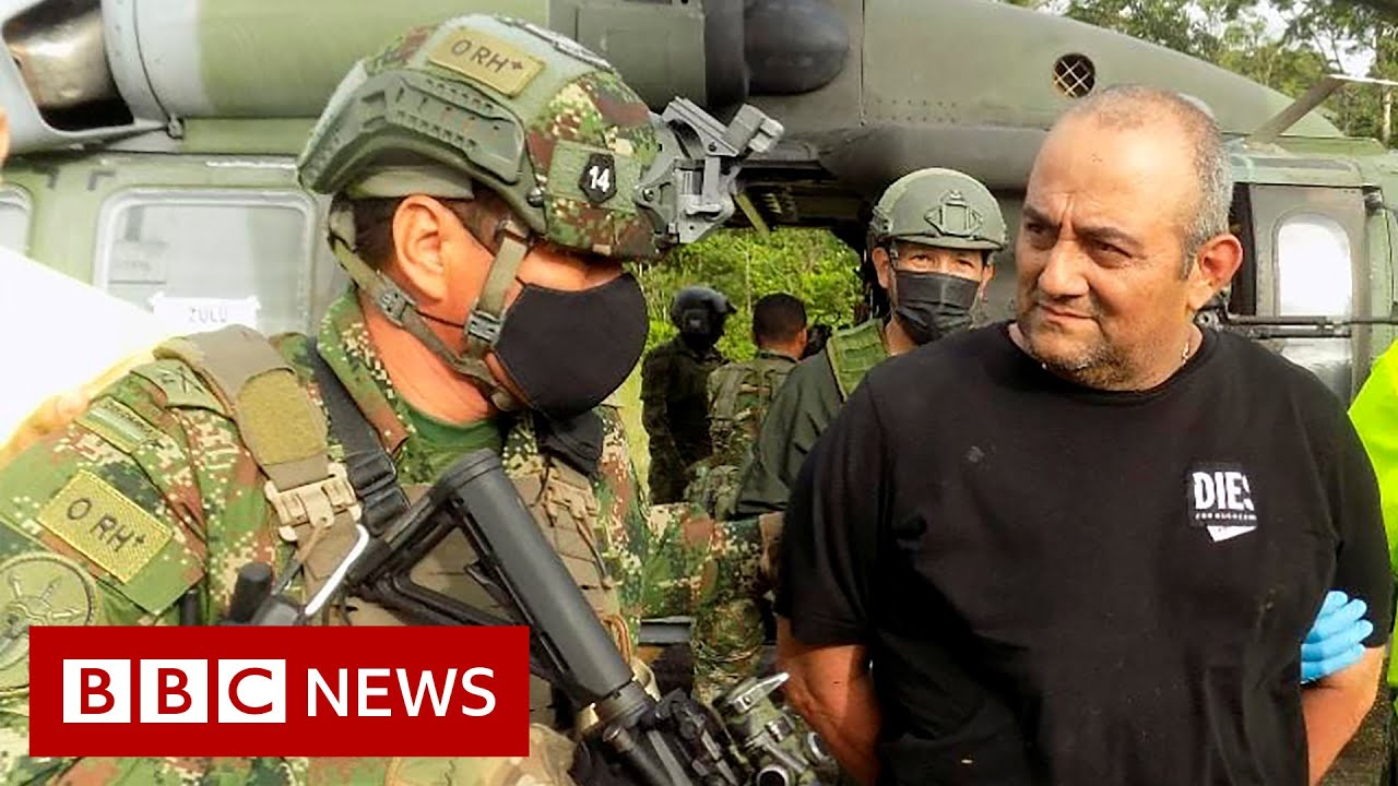 Download Colombia's most wanted drug lord captured - BBC News