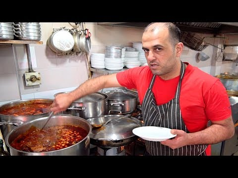JERUSALEM STREET FOOD | Jewish Street Food at MAHANE YEHUDA MARKET - Street Food in Jerusalem 2019