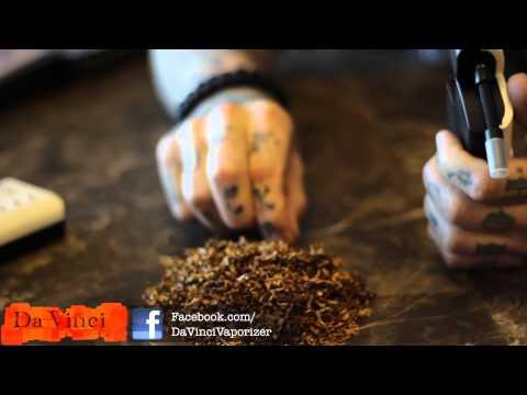 DaVinci Vaporizer - Tobacco