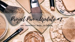 PROJECT PAN INTRO - 100+ PRODUCTS I WANT TO FINISH + UPDATE #1   MINIMALISM