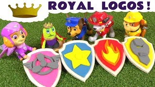 Paw Patrol Play Doh royal logo fun toy story with the funny Funlings and Thomas The Tank Engine TT4U