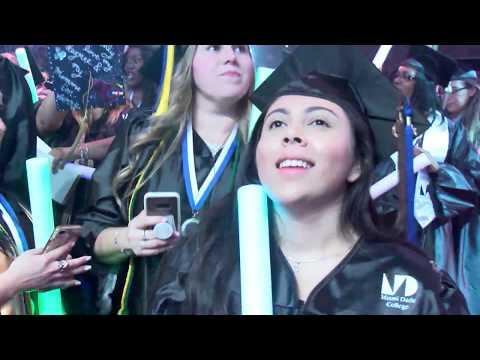 Miami Dade College North Campus Commencement 2018