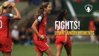 USWNT  Fights & Angry Moments... (NWSL Edition)