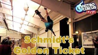 Schmidt's golden ticket