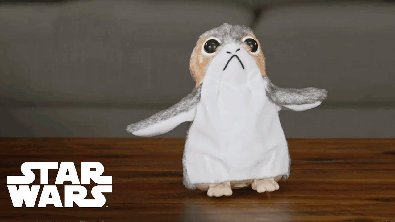 Porg Star Wars The Last Jedi Electronic Plush