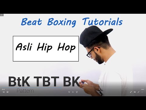 Asli Hiphop Beat Boxing Tutorial in Hindi | #GullyBoy