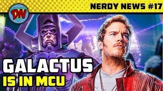 Galactus in MCU, Shazam Trailer, Chris Hemsworth New Movie, Aquaman, Wonder Woman 2   Nerdy News #17