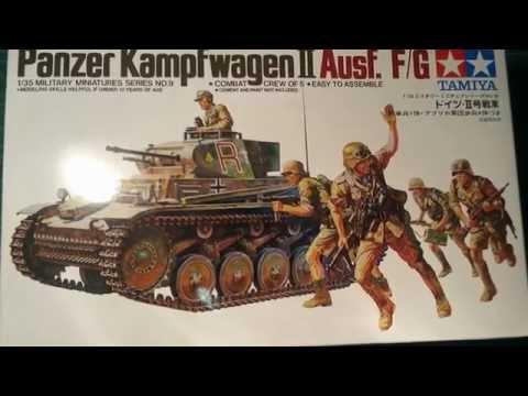 Tamiya 1/35 Panzer 2 Afrika Korps Pt. 3 Diorama & reveal