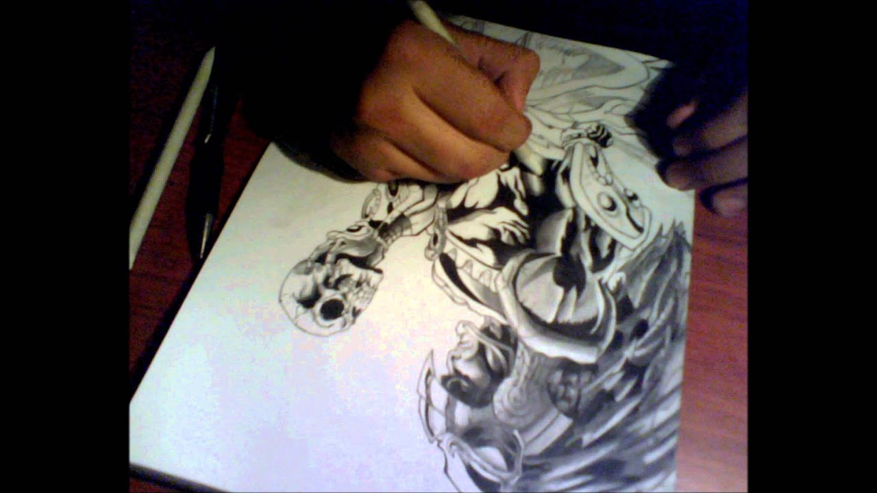 DiBUJO DE GUERRERO AGUILA drawing  YouTube