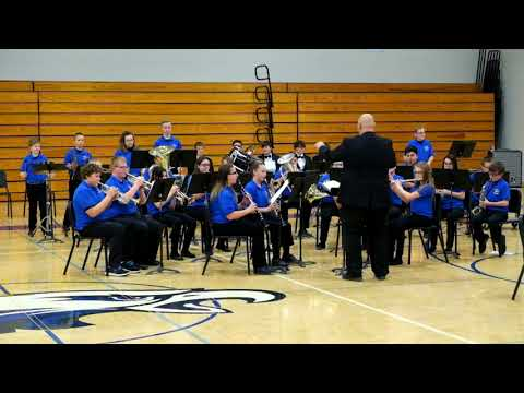 Underwood Middle School Concert Band - 2018