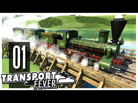 Transport Fever - S2 Ep.01 : The Swiss Alps!
