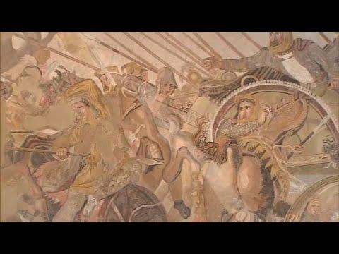 Il ritocchino di Alessandro Magno al Museo Archeologico di Napoli
