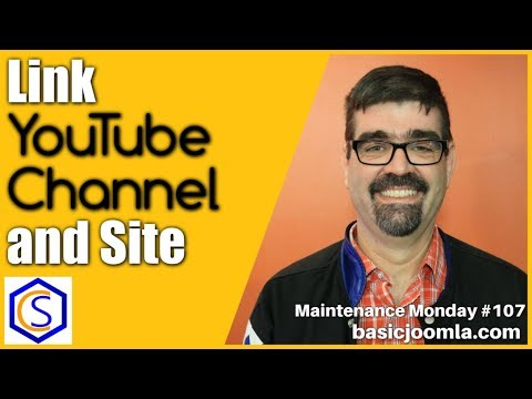 Link Your YouTube Channel to your Joomla Site 🛠 MM Live Stream #107 thumbnail