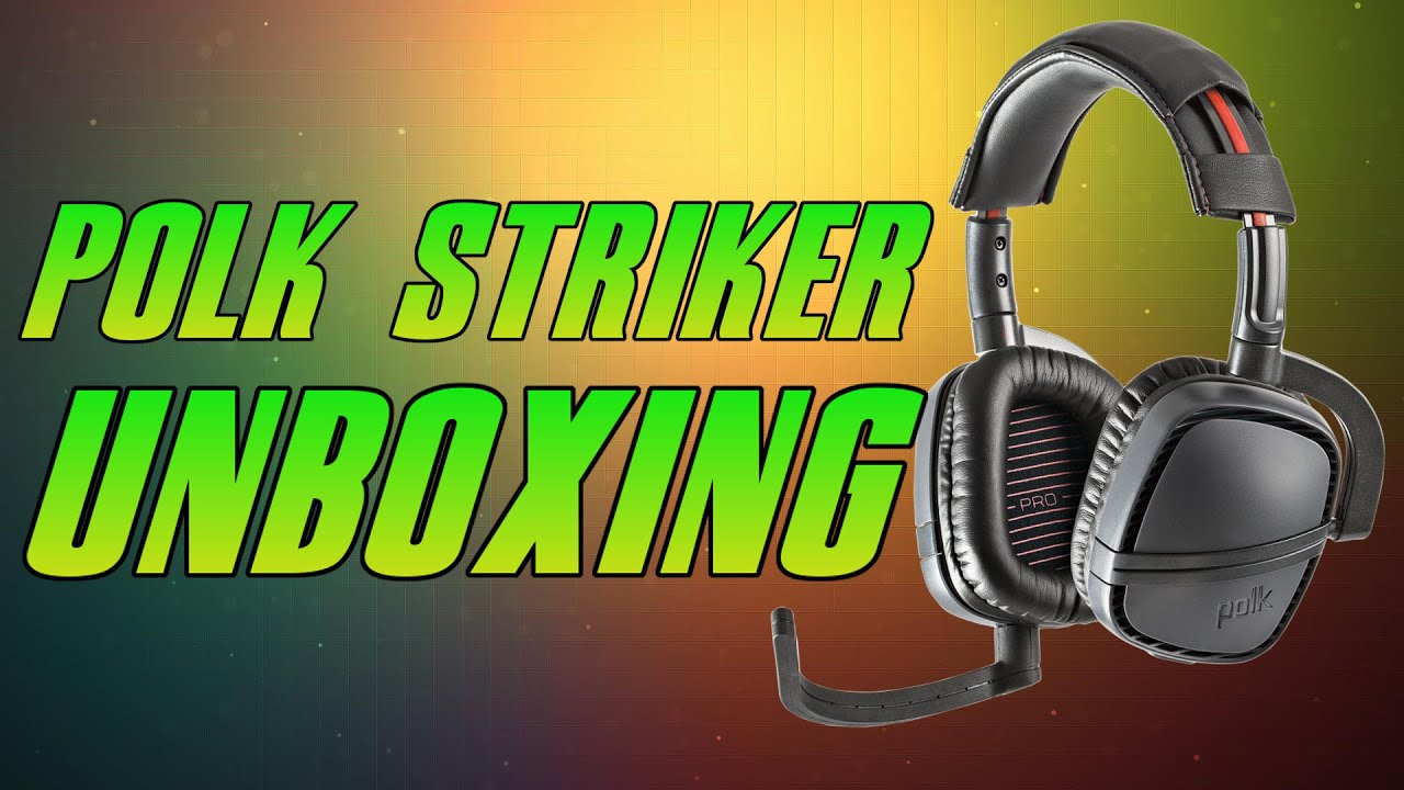 polk striker pro zx gaming headset unboxing xbox one polk striker pro zx gaming headset unboxing xbox one