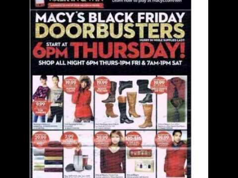 macy 39 s black friday 2015 ad youtube. Black Bedroom Furniture Sets. Home Design Ideas