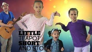 I'm a Little Tea Pot| Action Songs for Kids| BlackBerry Jam Kids Music