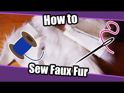 //Tutorial #39// How To Sew Fake Fur