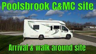 POOLSBROOK COUNTRY PARK Caravan & Motorhome club site, Staveley, Derbyshire