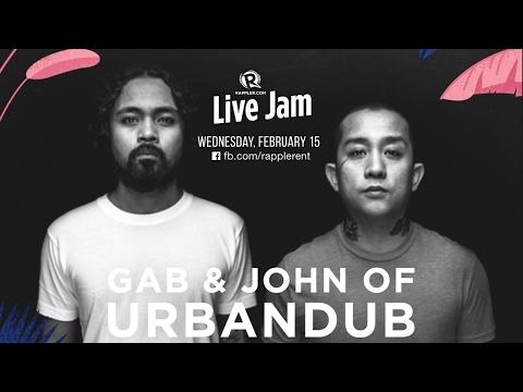 Rappler Live Jam: Gabby Alipe and John Dinopol of Urbandub