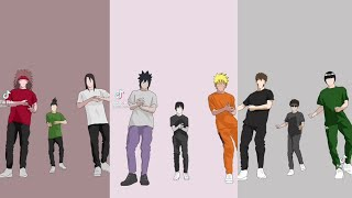 Naruto Tiktok Dance Animation/Compilation