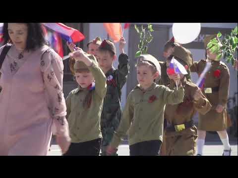 Парад победы город Чапаевск 2019